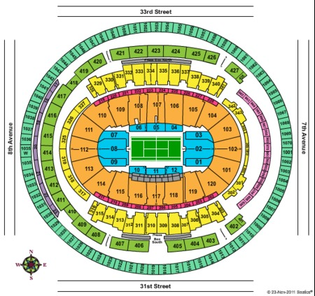 Madison Square Garden Tickets And Madison Square Garden Seating Charts 2018 Madison Square