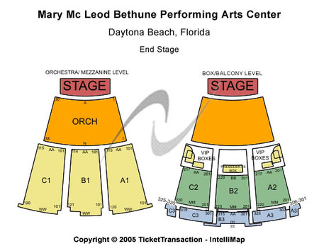 Mary Mcleod Bethune Performing Arts Center