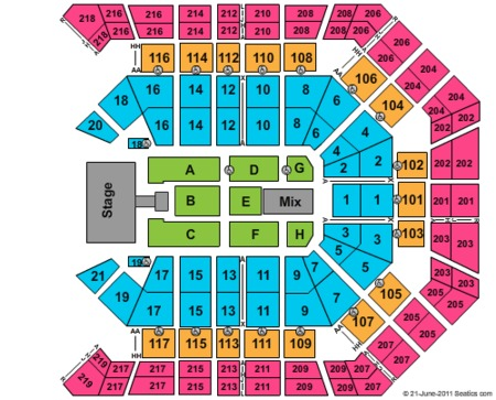 Mgm Grand Garden Arena Tickets And Mgm Grand Garden Arena Seating Charts 2017 Mgm Grand Garden