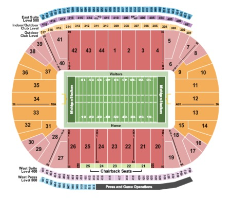 nebraska map stadium mcnally rand fabric