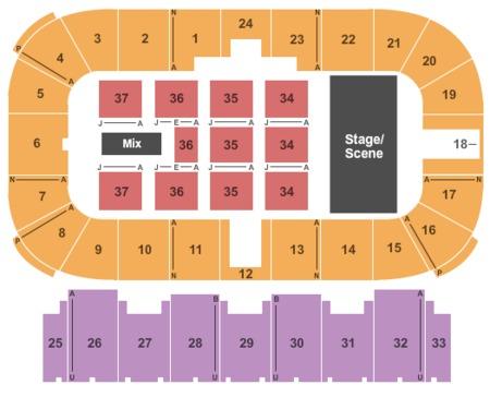 Moncton casino seating plan