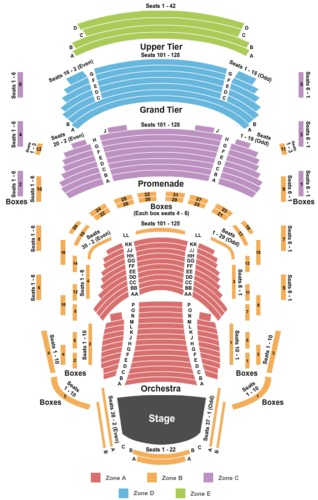 Music Center At Strathmore Tickets And Music Center At
