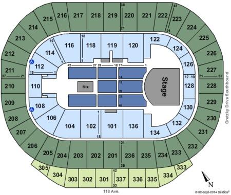 Northlands Coliseum Tickets And Northlands Coliseum