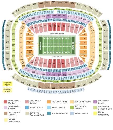 Reliant Stadium Tickets And Reliant Stadium Seating Charts