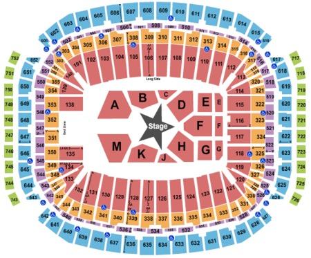 NRG Stadium Tickets and NRG Stadium Seating Charts - 2019 ...