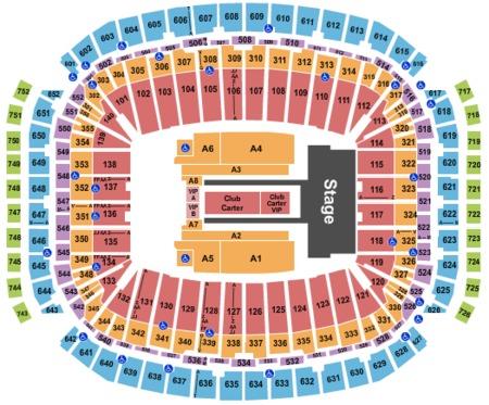 Nrg Stadium Tickets And Nrg Stadium Seating Charts 2019 Nrg