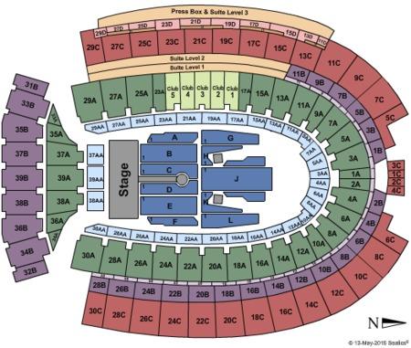 Rolling Stones Seating Map Ohio Stadium