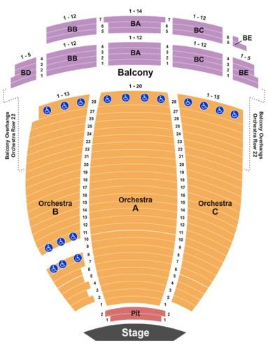 Symphony Hall Phoenix Seating Chart Best Breakfast In Hilton Head