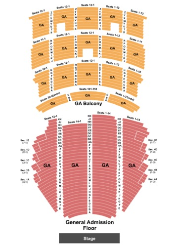 Paramount Theater Seattle Seating Chart Antal Expolicenciaslatam Co
