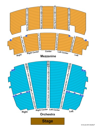 Detroit opera house seating plan - House and home design