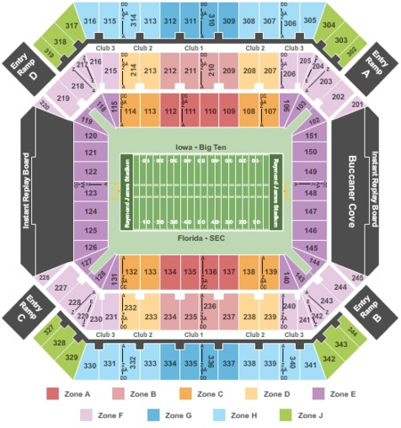 Outback Bowl: Wisconsin Badgers vs. Auburn Tigers Tickets .