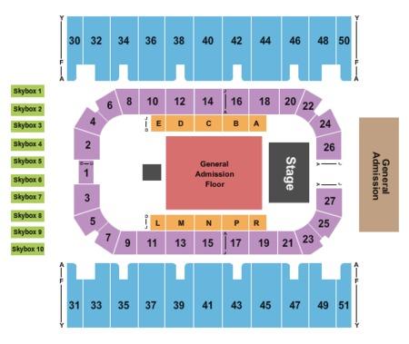 Rimrock Auto Arena Billings Tickets And Rimrock Auto Arena