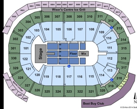 Rogers Arena Gate Map Rogers Arena Tickets and Rogers Arena Seating Charts   2019 Rogers