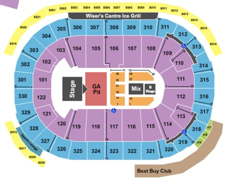 rogers arena tickets and rogers arena seating charts
