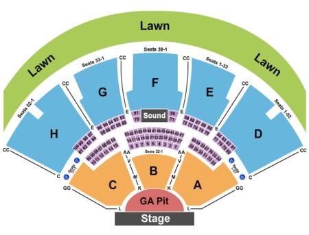 Klipsch Music Center Tickets And Klipsch Music Center
