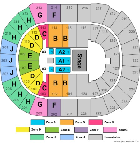Sap Center Tickets And Sap Center Seating Charts 2018