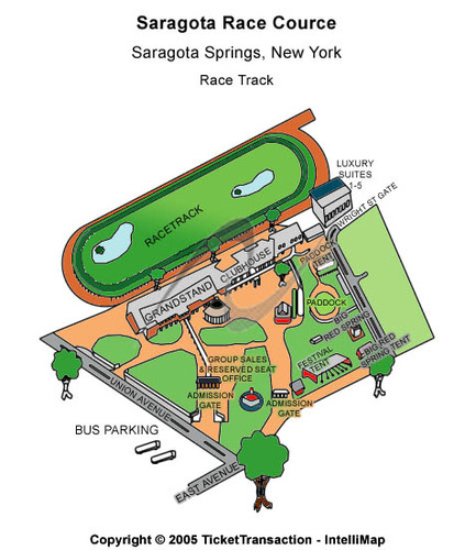 saratoga race track tickets and seating