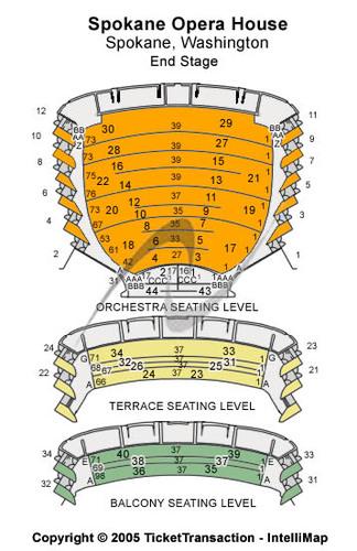 Spokane Opera House Tickets And Spokane Opera House