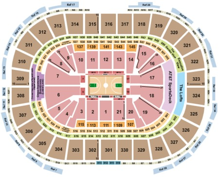 Td Garden Tickets And Td Garden Seating Charts 2017 Td