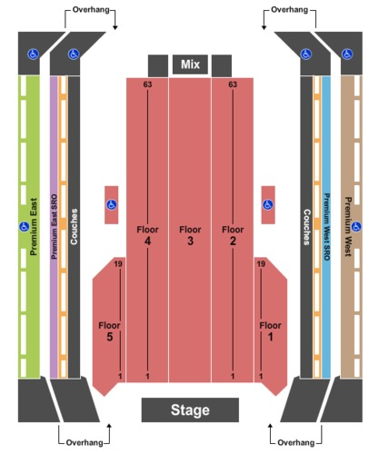 The Armory Tickets And The Armory Seating Charts 2019