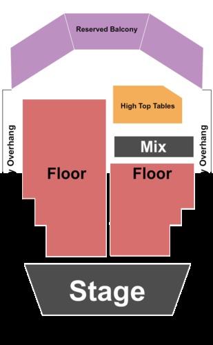 Hard Rock Cafe Las Vegas Seating Capacity