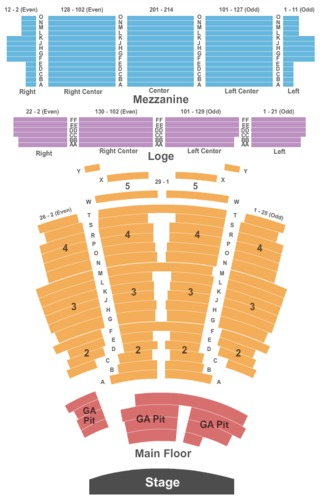 The Wiltern Tickets And The Wiltern Seating Charts The - The wiltern seating chart