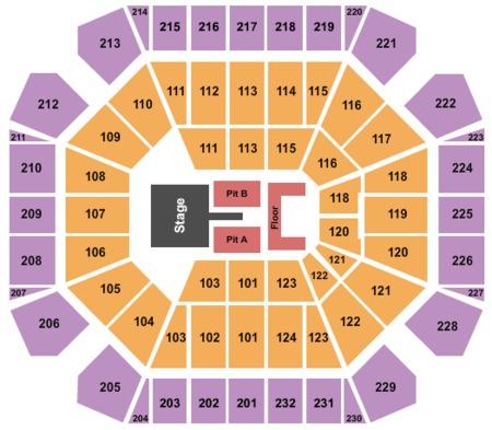 United Spirit Arena Tickets And United Spirit Arena