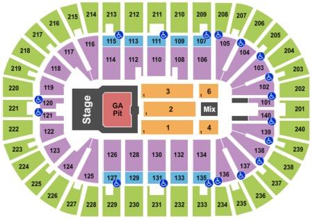 us bank arena seating chart elton john