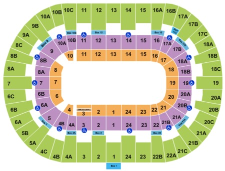 Valley view casino center seating chart cher