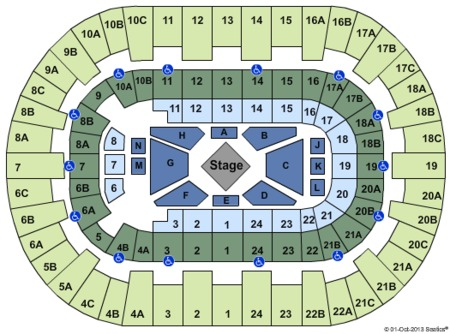 Browse Updated Valley View Center Seating Charts For Every Upcoming Event