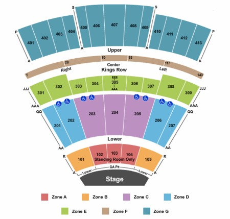 Verizon Seating Chart Grand Prairie Awesome Home