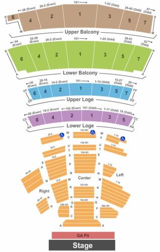 Warfield Tickets And Warfield Seating Charts 2019 Warfield Tickets