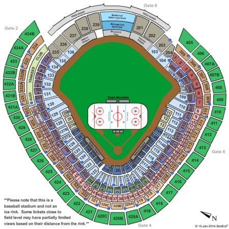 Yankee Stadium Tickets and Yankee Stadium Seating Charts - 2019 ...