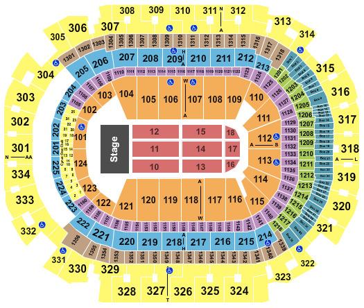 alaska airlines arena seating chart